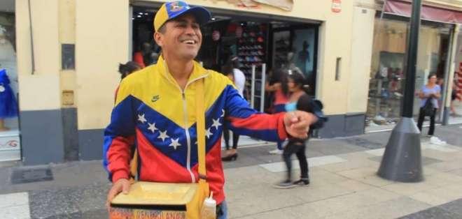 Los venezolanos son uno de los grupos de extranjeros más contratados actualmente. Foto: tomada de internet