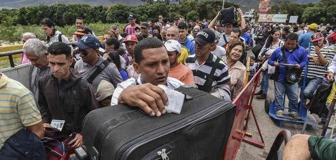 """Colombia enfrenta dos """"situaciones humanitarias"""". Foto: Archivo - Referencial"""