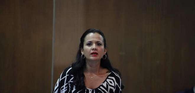 Contraloría ratifica glosa contra Marcela Aguiñaga. Foto: Archivo - Ecuavisa