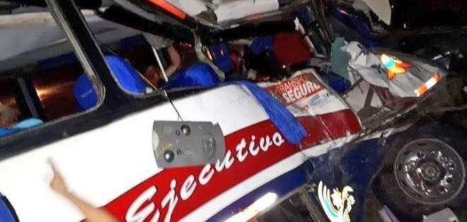 Gobernación analiza ampliar la vía donde ocurrió el mortal accidente. Foto: Twitter