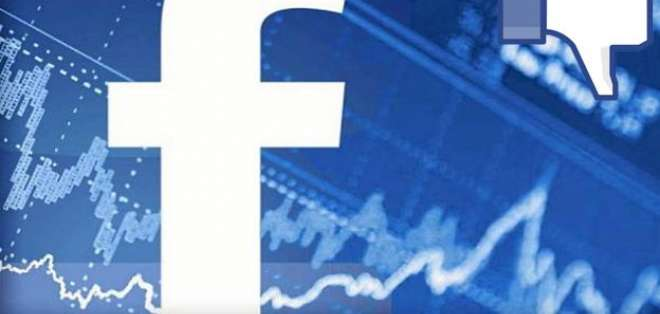 Las acciones de Facebook caen más del 6% por filtración.