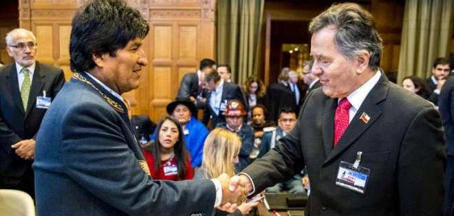 Bolivia basa en la OEA la obligación de Chile de negociar. Foto: AFP
