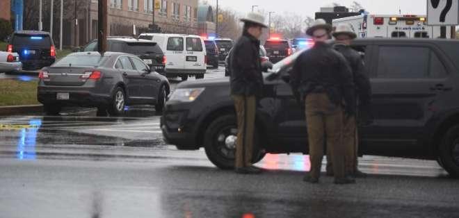 EEUU: Tiroteo en escuela de Maryland dejó tres heridos. Foto: AFP