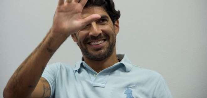 El delantero uruguayo es nuevo jugador del Río Branco de Brasil. Foto: Archivo