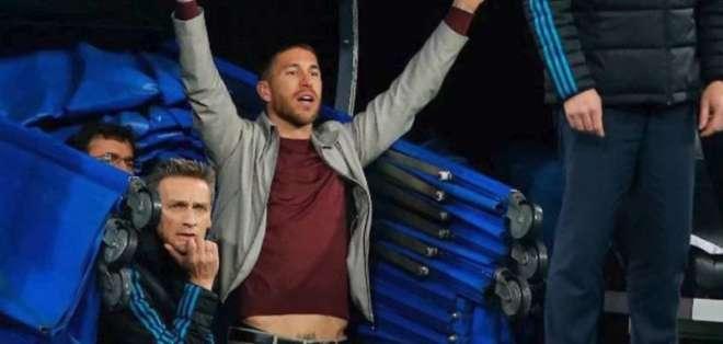 Sergio Ramos podrá estar en las semifinales con el Real Madrid ante el Bayern Múnich.