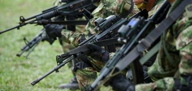 Ecuador y Colombia buscan ahora dar golpe contundente que reivindique su autoridad en la zona. Foto: AFP