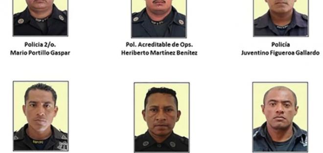 Seis de las víctimas eran policías. - Foto: El Universal