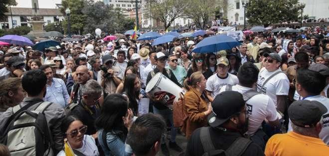 Marcha saldrá desde el arco de la Circasiana, en el centro norte de Quito. Foto: API