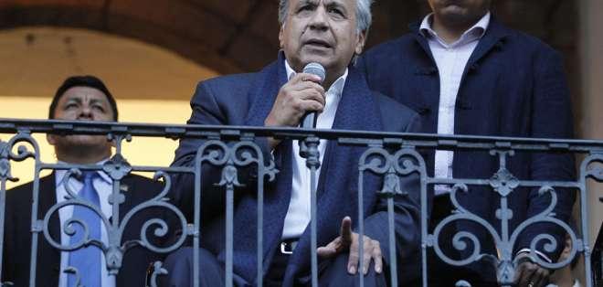 Posibilidad surge tras detención de integrante de seguridad de Moreno vinculado a red narco. Foto Flickr Presidencia