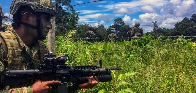 Las tropas cumplirán una labor humanitaria y social en la zona declarada en emergencia. Foto: AFP