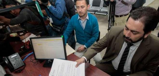 Defensor pide a jueces que desclasifique la información del caso Gabela. Foto: API