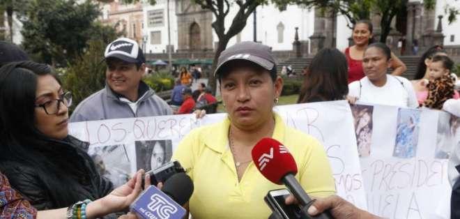 Familiares de pareja secuestrada piden reunirse con el presidente Lenín Moreno. Foto: API