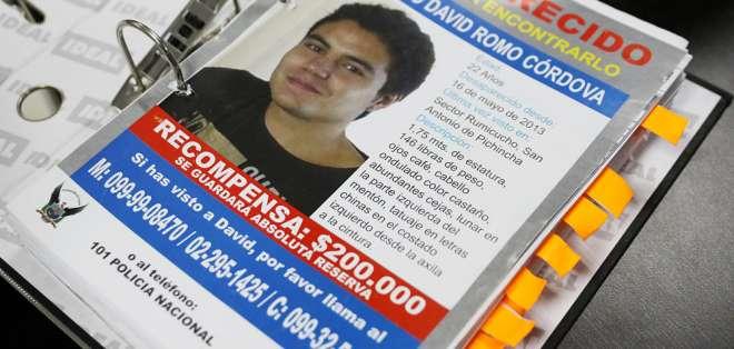 Solicita que que Rocío González replique su pedido de justicia para saber sobre su hijo desaparecido. Foto: Archivo Andes