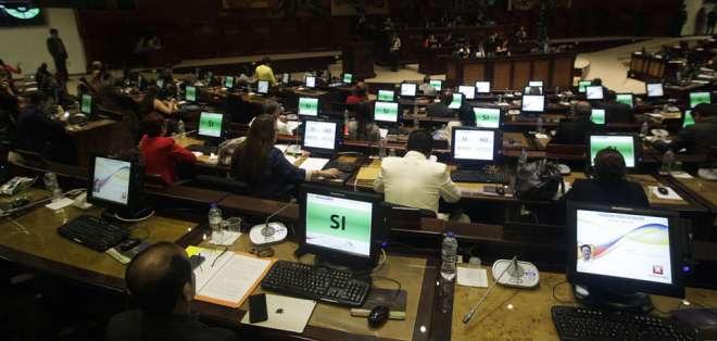 El sistema de acceso a la universidad y el presupuesto estuvieron entre temas de debate. Foto: API