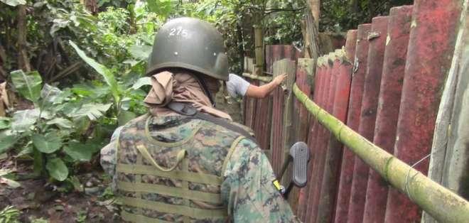 La desaparición de Ilaquiche ocurre en un momento en el que Ecuador enfrenta a grupos irregulares. Foto Referencial: Ejército.