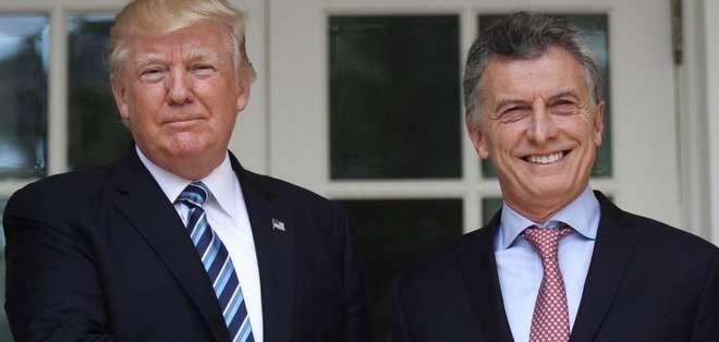 Donald Trump y Mauricio Macri: ¿buenas noticias económicas para uno significan malas para el otro?
