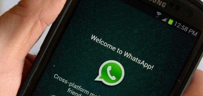 Algunos usuarios de WhatsApp han sido víctimas de una broma que se comparte en la aplicación.