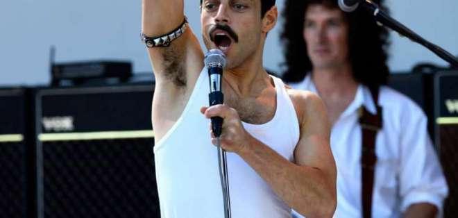El actor Rami Malek (protagonista de la serie Mr. Robot) interpreta a Mercury. Foto: Century Fox