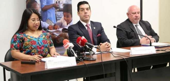 Ledesma dijo que podría haber desvinculaciones no solo del nivel jerárquico superior. Twitter: Ministerio de Trabajo