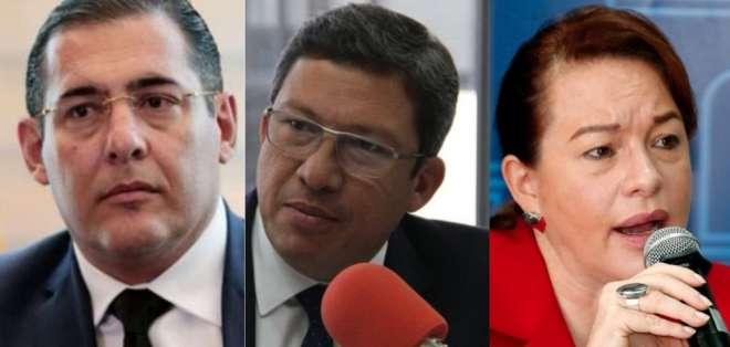 Zambrano, Navas y Espinosa explicarán su gestión respecto a la situación en la frontera. Foto: Archivo