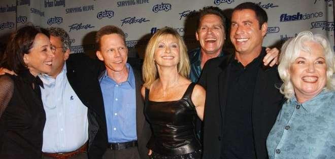 En 2002 la mayoría del elenco se reunió en Los Ángeles. Foto: Getty Images