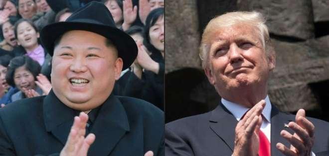 Corea del Norte dijo que el encuentro será anulado si se le sigue demandando que abandone su arsenal nuclear. Foto: AFP