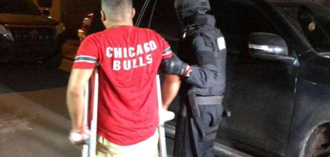 Seis detenidos en operativo en la provincia de El Oro. Foto: Redes