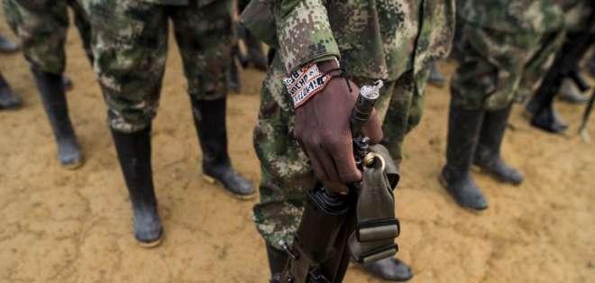 Los once sujetos formaban parte del llamado 'Frente Séptimo'. Foto: Referencial AFP