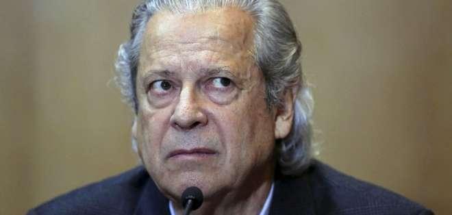 """El político de 72 años fue condenado a más de 30 años por corrupción en el caso """"Lava Jato"""". Foto: AFP"""