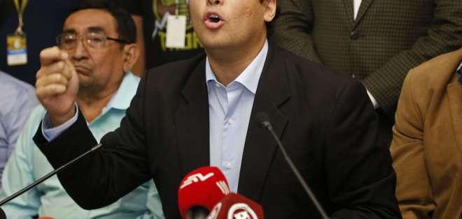 El legislador se desafilió en marzo de SUMA, movimiento con el que llegó a su curul.  Foto: Archivo API