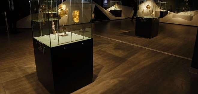 El museo cuenta al menos con 1.000 piezas, entre ellas el icónico del Sol de Oro. Foto: API