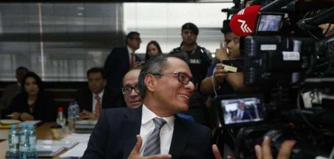 El recurso de apelación fue presentado por Jorge Glas y otros 5 sentenciados. Foto: API
