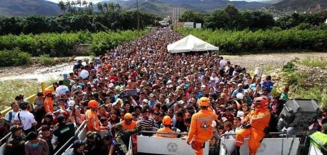 Frontera colombo-venezolana cerrada por elecciones en Colombia. Foto: Agencias