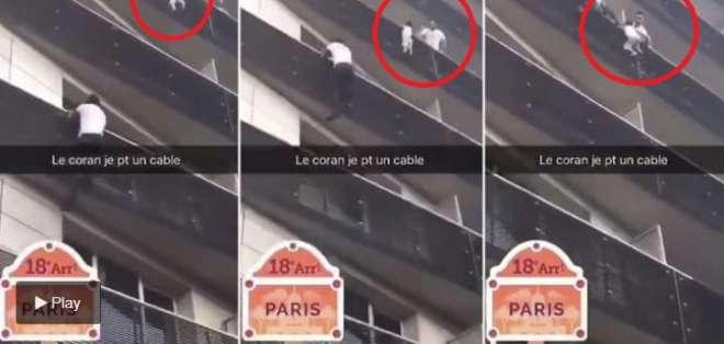 Resultado de imagen para joven trepa 4 pisos