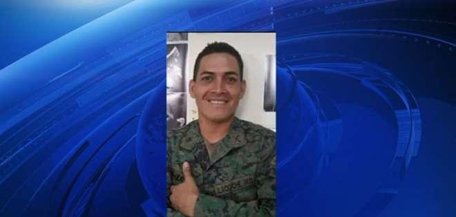 Wilson Ilaquiche desapareció el 12 de mayo de 2018 cerca del destacamento Tobar Donoso. Foto: Captura Video.
