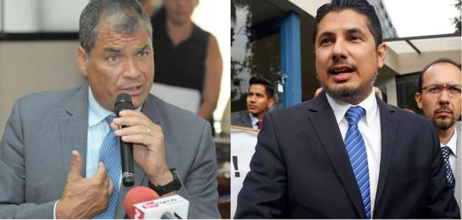 ECUADOR.- Desde Bélgica, el expresidente Rafael Correa rindió su versión sobre el secuestro de Fernando Balda. Collage: Ecuavisa