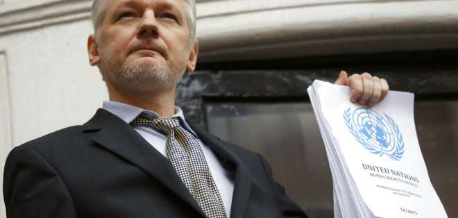 En entrevista a canal alemán, mandatario se refirió a situación de fundador de WikiLeaks. Foto: Archivo AP