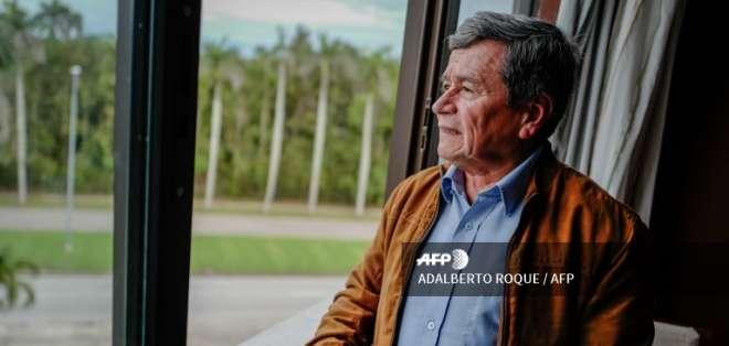 El diálogo con el gobierno del saliente Juan Manuel Santos continúa este 30 de mayo. Foto: AFP