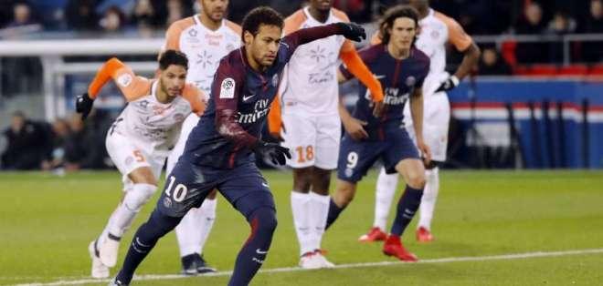 Los derechos de tv. del fútbol francés fueron adjudicados a una empresa española. Foto: Diario AS