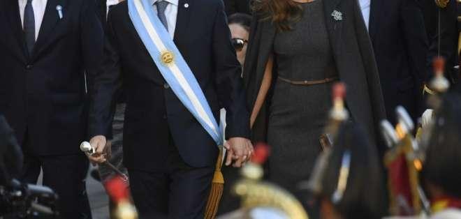 Macri aplicó el veto por quinta vez en su mandato. Foto: AFP