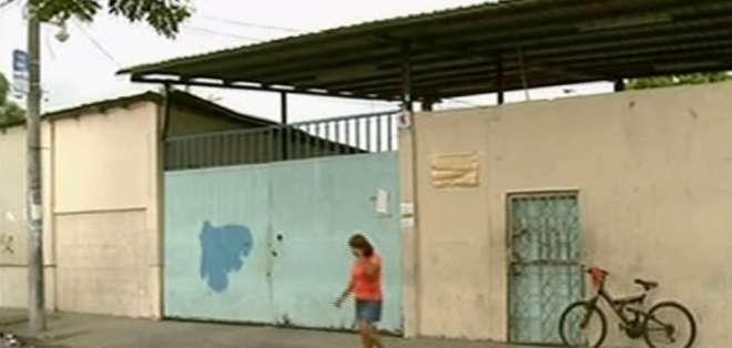 La unidad educativa donde estudiaba el menor es la misma a la que acudía Brithany Morán. Foto: Captura.