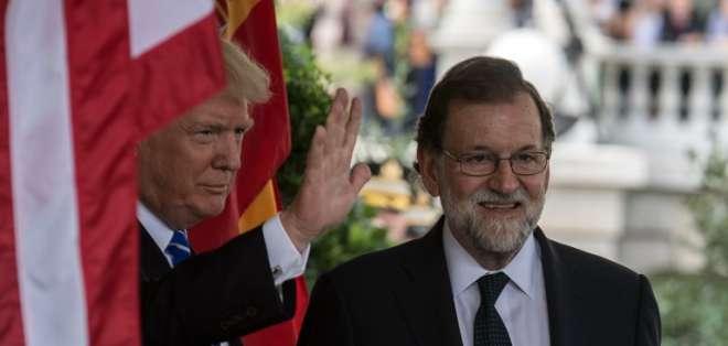 Luego de más de 30 años en la política, el presidente Rajoy cayó. - Foto: AFP