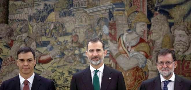 En un año, Sánchez logró recuperar el liderazgo del PSOE e hizo caer a Rajoy. Foto: AFP.