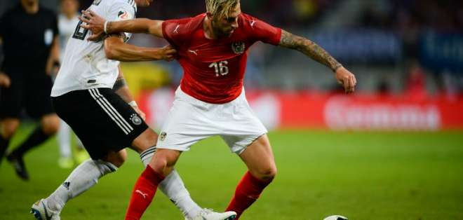 KLAGENFURT, Austria.- El elenco alemán se medirá contra la selección de México en su partido debut. Foto: AFP