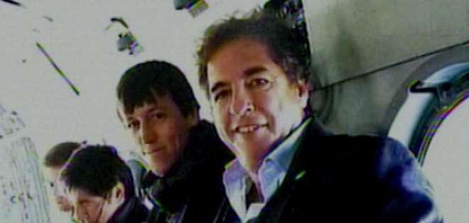 Al menos cuatro funcionarios del entorno presidencial viajaban en el helicóptero. Foto: Tomado de Perfil.com.