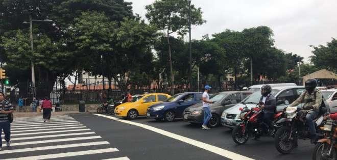 Primer día de control registró reducción de sanciones, según la autoridad de tránsito. Foto: Twitter ATM.