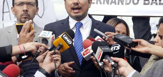 QUITO, Ecuador.- El político fue expulsado de Colombia el 10 de octubre de 2012 por pedido de Quito. Foto: API