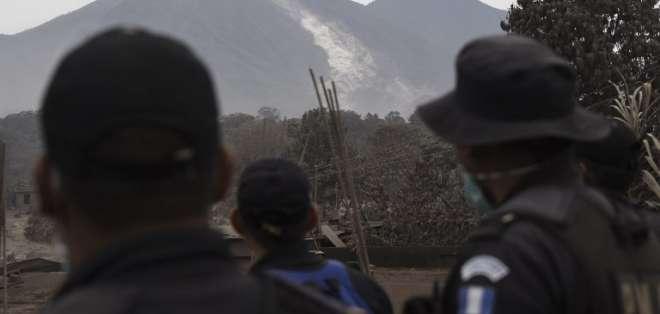 GUATEMALA.- El gobierno de Guatemala declaró tres días de duelo nacional, tras la erupción del coloso. Foto: AFP