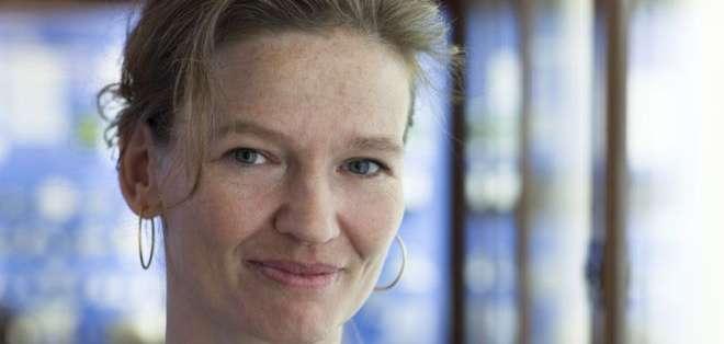 Rikke Schmidt Kjaergaard solo se podía comunicar parpadeando cuando fue víctima del síndrome de síndrome de enclaustramiento.