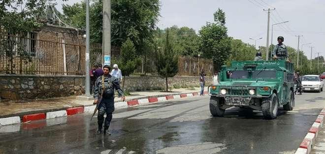 Los religiosos estaban abandonando el lugar cuando se perpetró el ataque. Foto: AFP